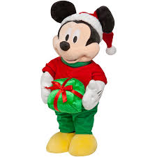 shop gemmy mickey mouse freestanding at lowes