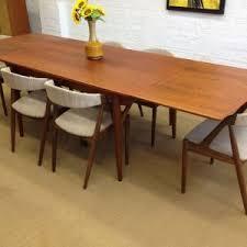 Modern Walnut Dining Chairs Furniture Mid Century Modern Walnut Dining Set At 1stdibs Mid