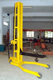 hydraulic stacker manual hydraulic stacker manufacturer from chennai
