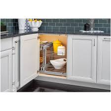 what is a blind corner kitchen cabinet rev a shelf 5psp 18sc 5psp series pull out 2 tier blind
