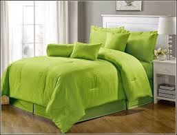 Green And Black Comforter Sets Queen Lime Green Comforter Sets Ballkleiderat Decoration