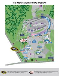 Phoenix International Raceway Map by Rir Track Map Page 001 Infieldjen Com
