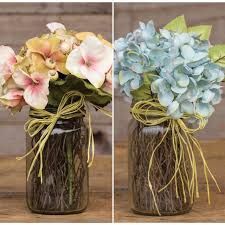 hydrangea arrangements faux floral arrangements flower arrangements hydrangea
