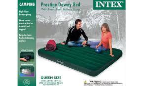 intex queen prestige downy air mattress