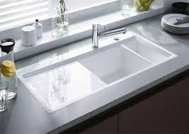 Kitchen  Elegant Decoration With Porcelain Undermount Kitchen - Porcelain undermount kitchen sink