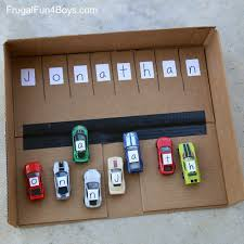 learn your name with wheels cars