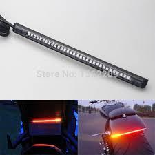 led light strip turn signal new led motorcycle light strip tail brake stop light turn signal