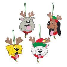 reindeer dogs ornament craft kit orientaltrading com cloe u0027s