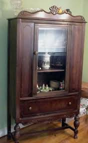 China Cabinets With Glass Doors 1960 China Cabinet Antique China Cabinet With Glass Doors