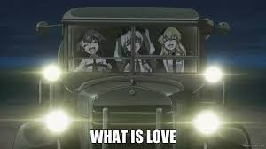 Girls Und Panzer Meme - girls und panzer what is love youtube