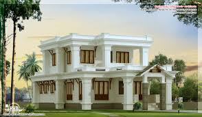 2300 sq feet flat roof villa design kerala home design and floor