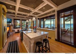 Lodge Kitchen by New Home Spotlight Tewesi Tahoe Lakefront Lodge Lake Tahoe