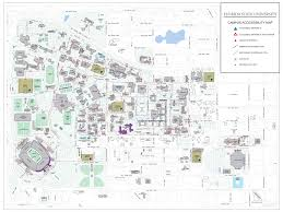 Map Of Tallahassee Florida by Main Campus Accessibility Map