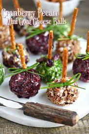 thanksgiving entertaining cranberry pecan mini goat cheese balls mom on timeout