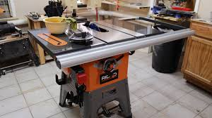 ridgid table saw miter gauge ridgid r4512 jays custom creations