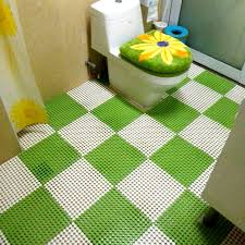 Bathroom Carpets Rugs Diy Stitching Bathroom Carpets Rugs 3d Pvc Shower Mat Waterproof