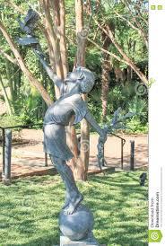 Daniel Stowe Botanical Garden by Daniel Stowe Garden Boy Statue Editorial Image Image 76110755