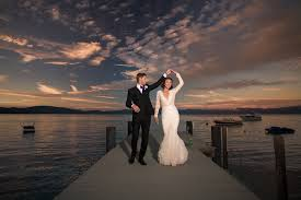 sacramento wedding photographers lake tahoe sunset wedding photo wedding photography san