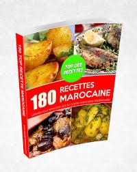 livre de recette cuisine livre 180 recettes marocaine livres recette marocaine