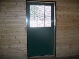 Stall Doors Dutch Door Interior View Precise Buildings