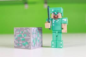 diamond steve diamond steve animal mob minecraft packs now available at tru