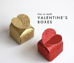 How To Make A Box With Paper - make a paper valentines day gift box diy craft room