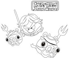 angry birds star wars coloring pages anakin coloring