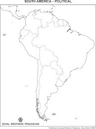 free south america cities map black and white cities map of