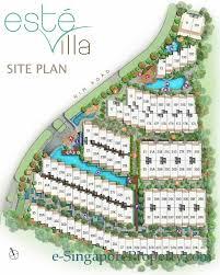 cluster house plans este villa floor plans este villa cluster houses