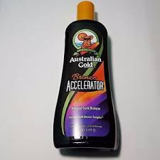 tanning bed lotion australian gold bronze accelerator natural dark bronzer tanning
