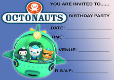octonauts party in erasers u0026 rubbers ebay