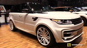 range rover 2015 2015 range rover sport by startech exterior and interior