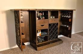 Folding Home Bar Cabinet Monaco Bar Cabinet Ebay Home Bar Design