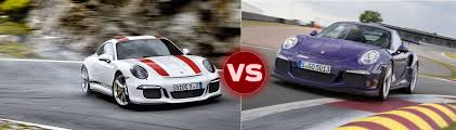 porsche 911 r the 911r vs the 991 gt3 rs jack olsen drives them back to back