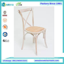 boutique wedding rental party event wooden cross back chairs buy