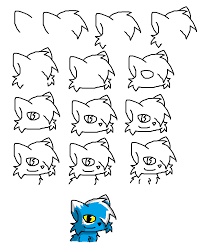how to draw a cat base cat by milesthfox on deviantart