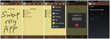 s memo apk port galaxy note s memo on any android phone swapmyapp