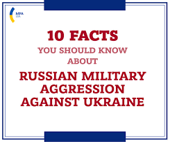 10 facts you should about russian aggression against