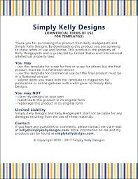 terms of use simply kelly designs