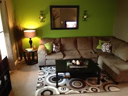 green and brown living room apartment touch up pinterest