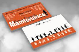 handyman business card free printable invitation design