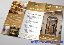 Free Templates For Hotel Brochures | hotel brochure template free roberto mattni co