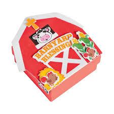 barnyard prayer box craft kit orientaltrading com vbs farm