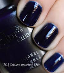 Inky Blue Fall 2011 Nail Polish Trend Bold Beautiful Blues Color Club