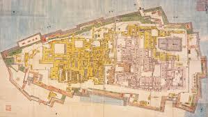 Japanese Castle Floor Plan What Was Inside The Castle A Close Up On Edo Castle Edo Tokyo