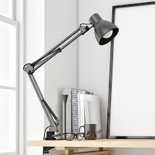 tojane swing arm desk lamp architect desk clamp mounted light