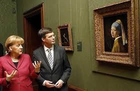 vermeer pearl earrings vermeer s the girl with the pearl earring plastered