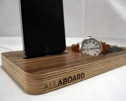 Wood Desk Organizer by The Allaboard Docking Station And Desk Organizer Wudzee
