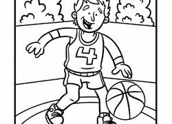 preschool sports coloring pages u0026 printables education com