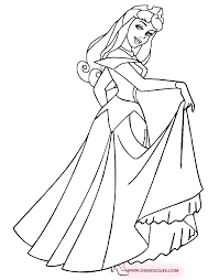 sleeping beauty printable coloring pages disney coloring book